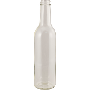 Cowboy Craft LLC 375 mL Clear Wine Bottles - Screw Top - Case of 12 ボトル容器-大口  | クラフトビール直送のCowboy Craft