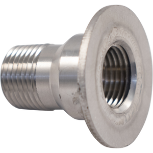 Cowboy Craft LLC Stainless 1/2 in. Coupling for Speidel Plastic Fermenters | クラフトビール直送のCowboy Craft