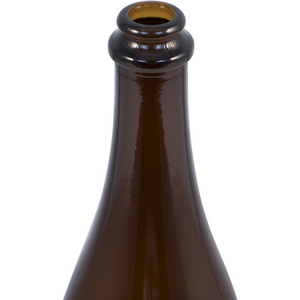Cowboy Craft LLC Bottles - 750ml Amber Belgian Style (Bottle Cap Finish) - Case of 12 ガラス容器  | クラフトビール直送のCowboy Craft
