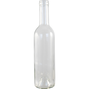 Cowboy Craft LLC 375 mL Clear Bordeaux Wine Bottles - Case of 12 ガラス容器  | クラフトビール直送のCowboy Craft