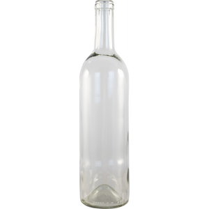 Cowboy Craft LLC 750 mL Clear Bordeaux Wine Bottles - Case of 12 ガラス容器  | クラフトビール直送のCowboy Craft