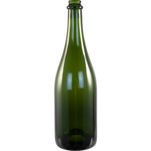 Cowboy Craft LLC 750 mL Green Champagne Bottles - Case of 12 ボトル容器-大口  | クラフトビール直送のCowboy Craft