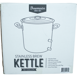 Cowboy Craft LLC 18.5 Gallon Brewmaster Stainless Steel Brew Kettle 煮沸鍋  | クラフトビール直送のCowboy Craft