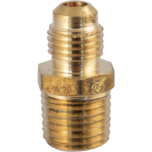 Cowboy Craft LLC Brass Flare Fitting - 1/4 in. Flare x 1/4 in. MPT NPTネジ・バルブ  | クラフトビール直送のCowboy Craft