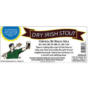 Cowboy Craft LLC Palmer Premium Beer Kits - Cerveza de Malta Seca - Dry Irish Stout | クラフトビール直送のCowboy Craft