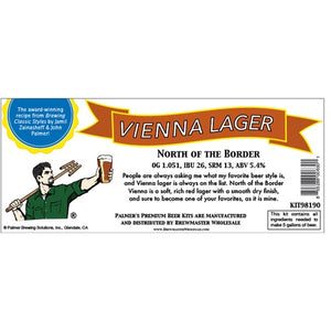 Cowboy Craft LLC Palmer Premium Beer Kits - North of the Border - Vienna Lager ホームブルーキット(18.9リットル用)  | クラフトビール直送のCowboy Craft