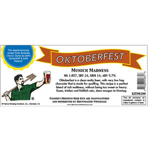 Cowboy Craft LLC Palmer Premium Beer Kits - Munich Madness - Oktoberfest | クラフトビール直送のCowboy Craft