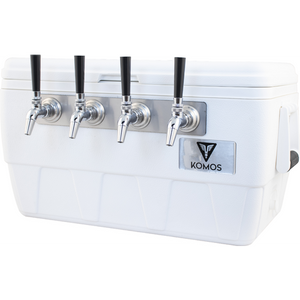 Cowboy Craft LLC Komos™ Marine Ultra Cooler Draft Box - 4 Tap ケグレーター・持ち運び容器  | クラフトビール直送のCowboy Craft