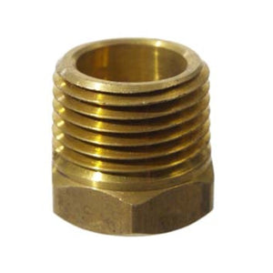 "Cowboy Craft LLC Brass 3/8"" FPT x 1/2"" MPT Bushing NPTネジ・バルブ  