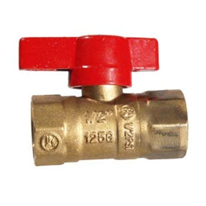 Cowboy Craft LLC Brass Ball Valve - Gas バーナー・ガス関連  | クラフトビール直送のCowboy Craft