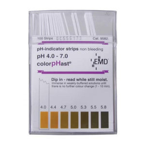 Cowboy Craft LLC ColorpHast pH Strips - 4.0 - 7.0 PHテスティング  | クラフトビール直送のCowboy Craft