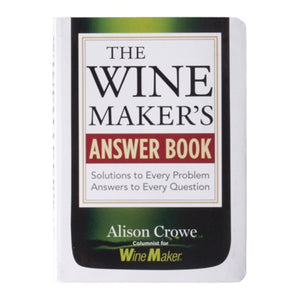 Cowboy Craft LLC The Wine Maker's Answer Book アメリカンビールマガジン  | クラフトビール直送のCowboy Craft