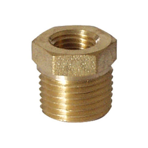 Cowboy Craft LLC Brass - 1/2 in. MPT x 1/4 in. FPT Bushing NPTネジ・バルブ  | クラフトビール直送のCowboy Craft