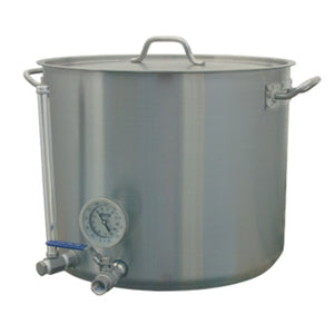 Cowboy Craft LLC 15 Gallon HLT - Stainless Hot Liquor Tank 煮沸鍋  | クラフトビール直送のCowboy Craft