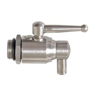 Cowboy Craft LLC Stainless Ball Valve for Fusti Tanks 円錐型・ステンレスタイプ  | クラフトビール直送のCowboy Craft