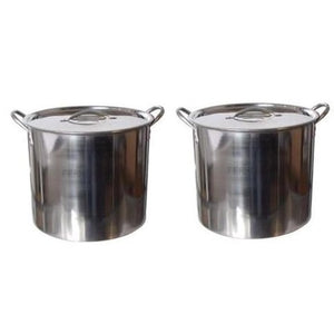 Cowboy Craft LLC 5 Gallon Stainless Steel Kettle (Pack of 2) 煮沸鍋  | クラフトビール直送のCowboy Craft