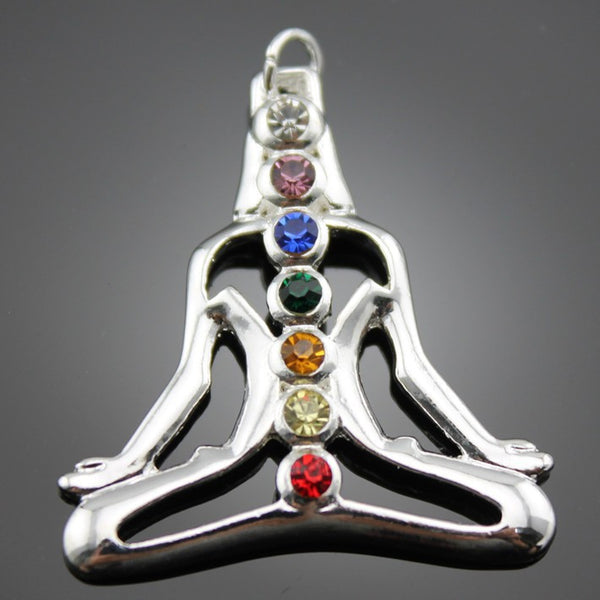 Meditation Chakra Pendant - Shevoila Jewelry & Clothing