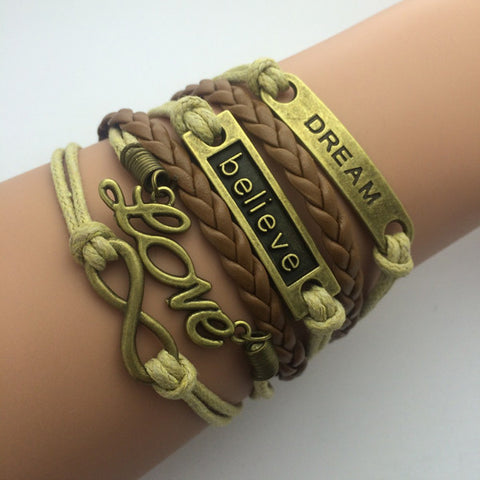 Wrap Charm Bracelets - Shevoila Jewelry & Clothing - 1