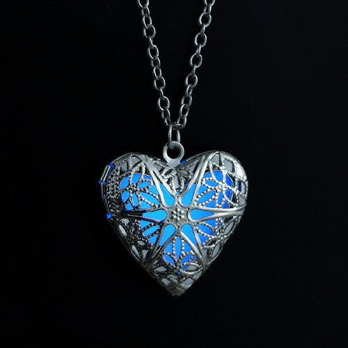 Glowing in the Dark Lockets - Shevoila Jewelry & Clothing - 3