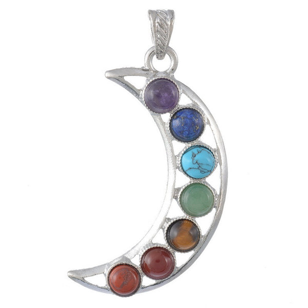 Natural Gemstone Chakra Pendants - Shevoila Jewelry & Clothing - 6