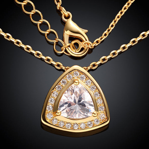 Gold Diamond Necklace - Shevoila Jewelry & Clothing - 1
