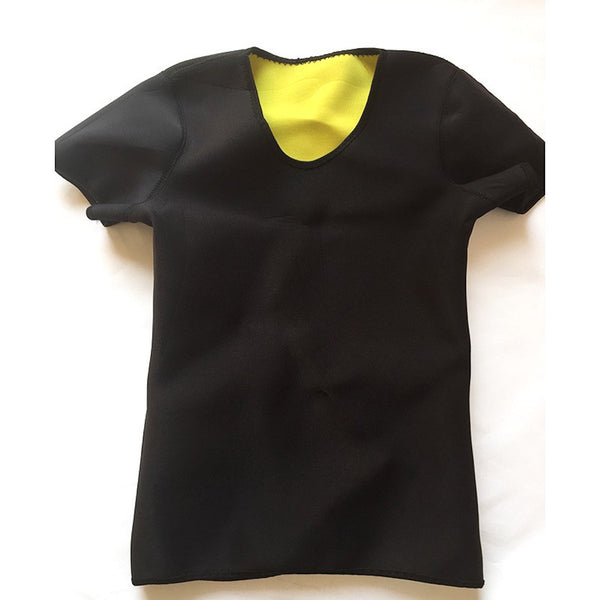 Short Sleeve T-Shirt Neoprene Body Shaper