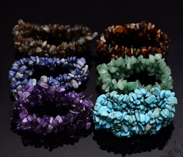 Multilayer Gemstone Bracelet - Shevoila Jewelry & Clothing - 1