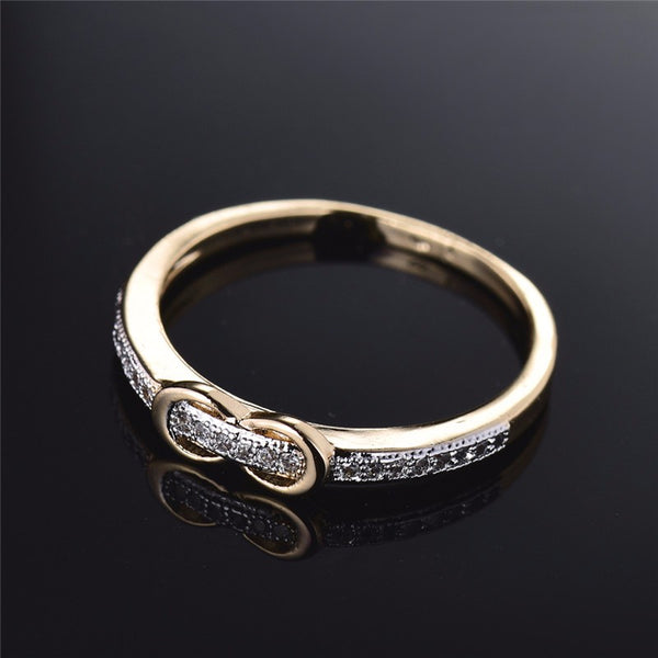 Belt Shaped Silver Ring