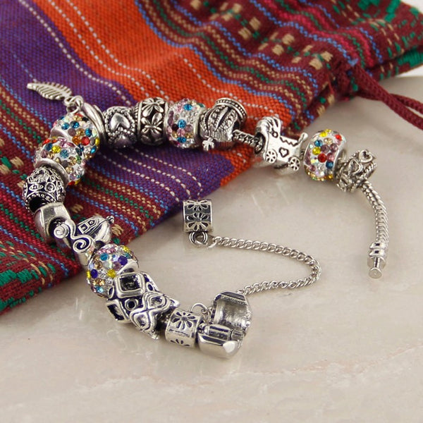 Feather Charm Bracelets - Shevoila Jewelry & Clothing - 8