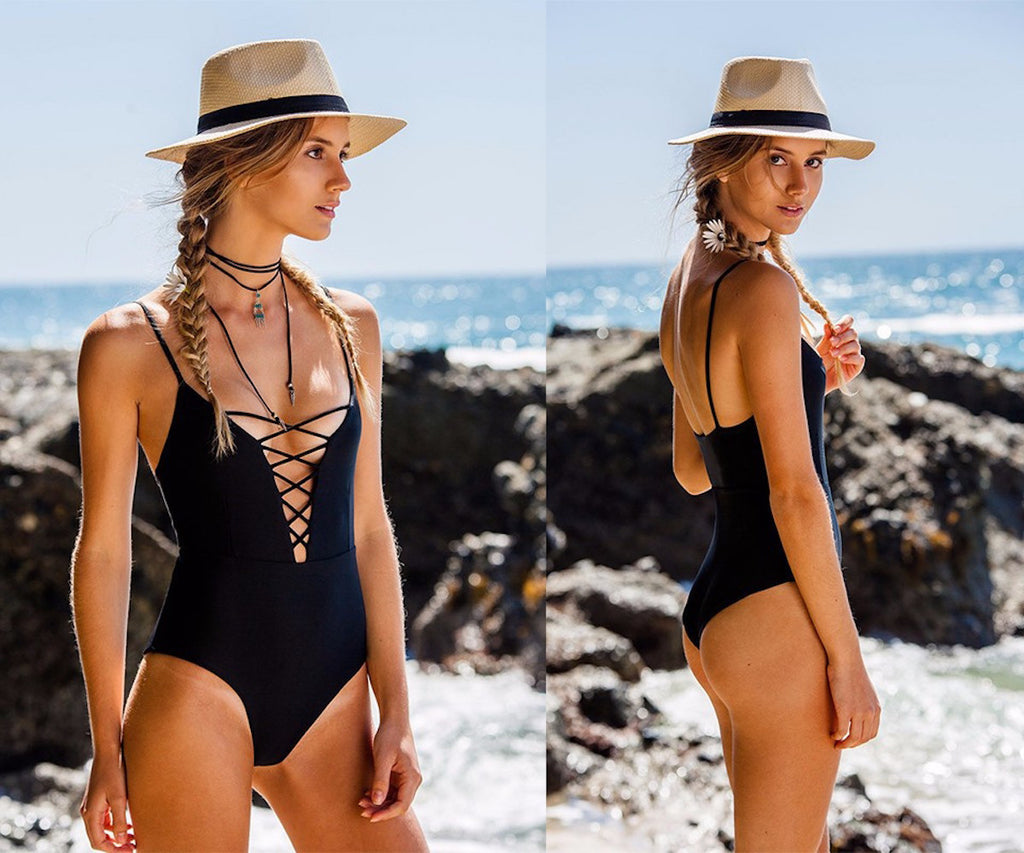 The Monokini One-Piece Swimsuit