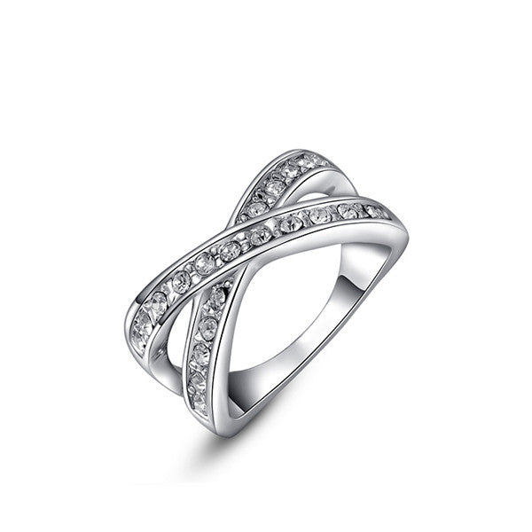 Gold/Platinum & Diamond Ring - Shevoila Jewelry & Clothing - 2
