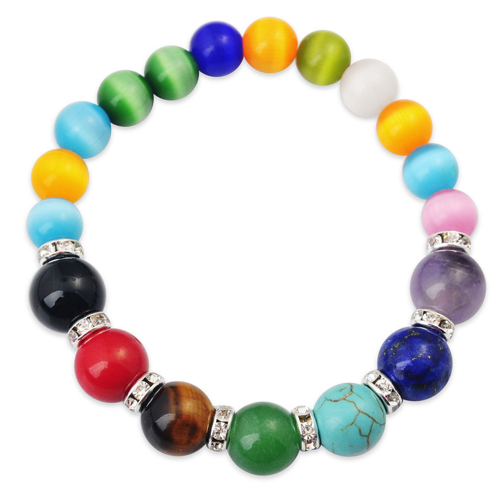 Gemstone Chakra Bracelets - Shevoila Jewelry & Clothing - 3