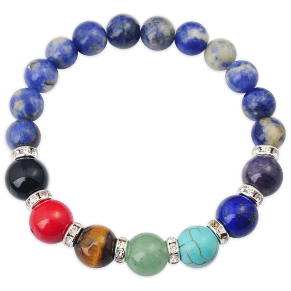 Gemstone Chakra Bracelets - Shevoila Jewelry & Clothing - 4