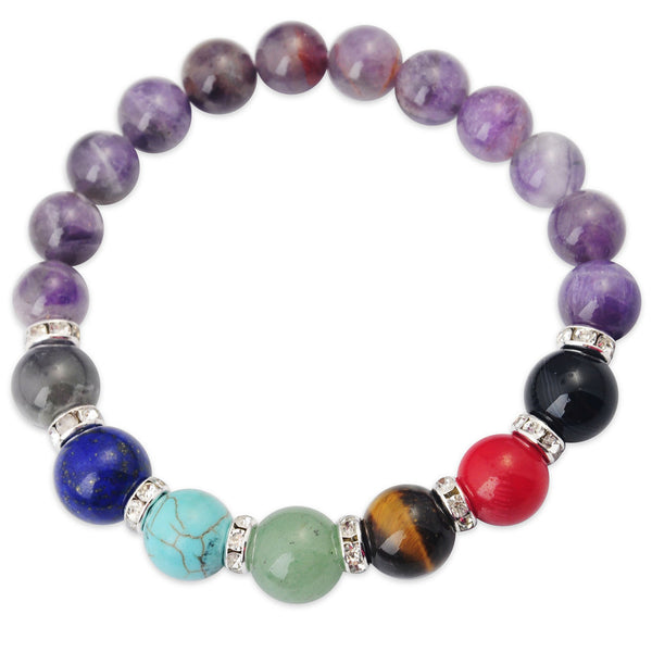 Gemstone Chakra Bracelets - Shevoila Jewelry & Clothing - 5