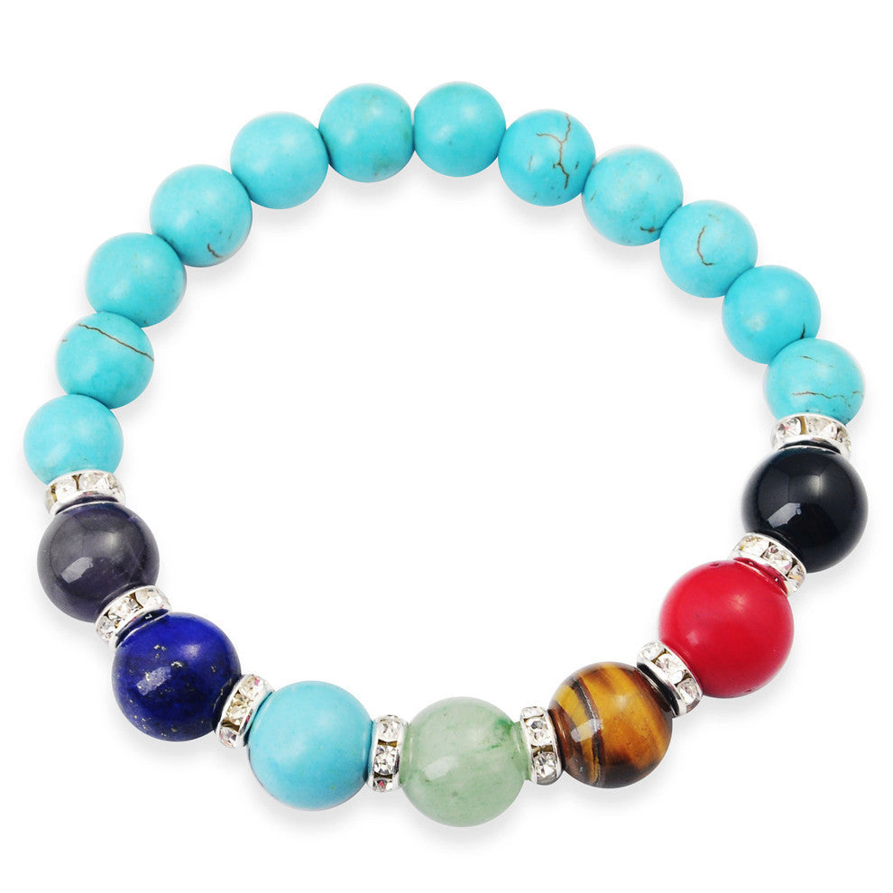 Gemstone Chakra Bracelets - Shevoila Jewelry & Clothing - 2