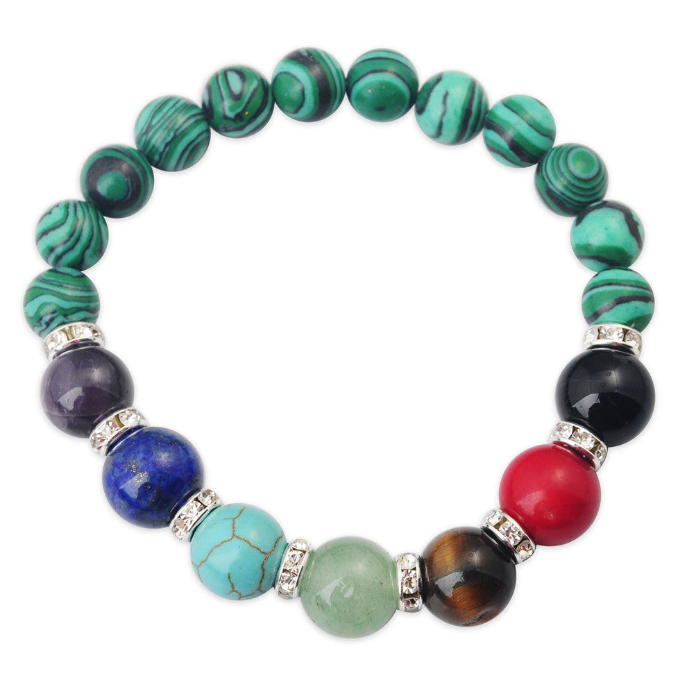 Gemstone Chakra Bracelets - Shevoila Jewelry & Clothing - 15