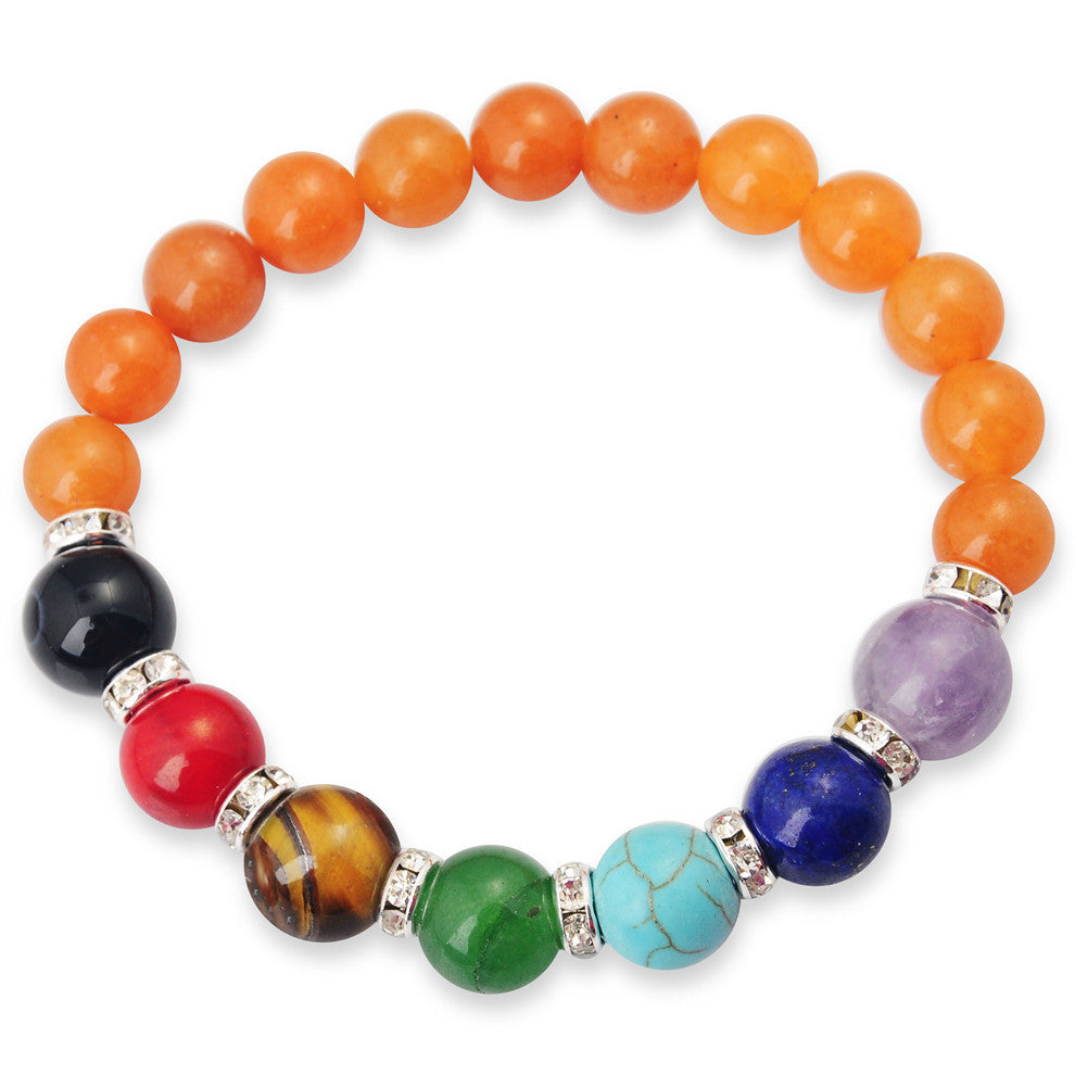 Gemstone Chakra Bracelets - Shevoila Jewelry & Clothing - 9