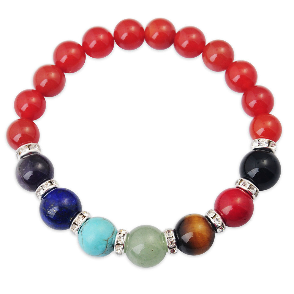 Gemstone Chakra Bracelets - Shevoila Jewelry & Clothing - 6