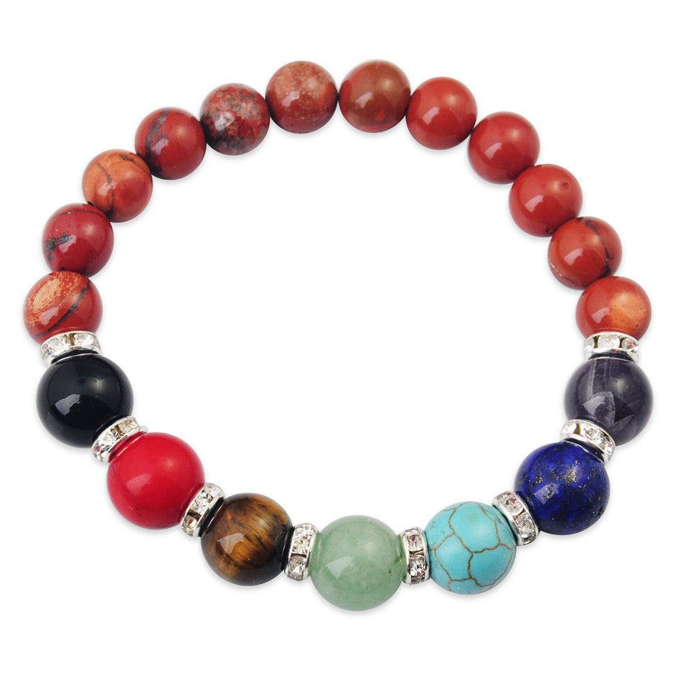 Gemstone Chakra Bracelets - Shevoila Jewelry & Clothing - 12