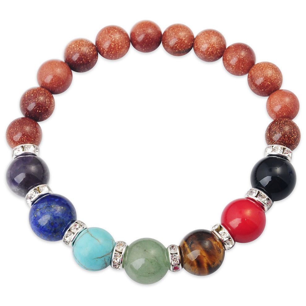 Gemstone Chakra Bracelets - Shevoila Jewelry & Clothing - 11