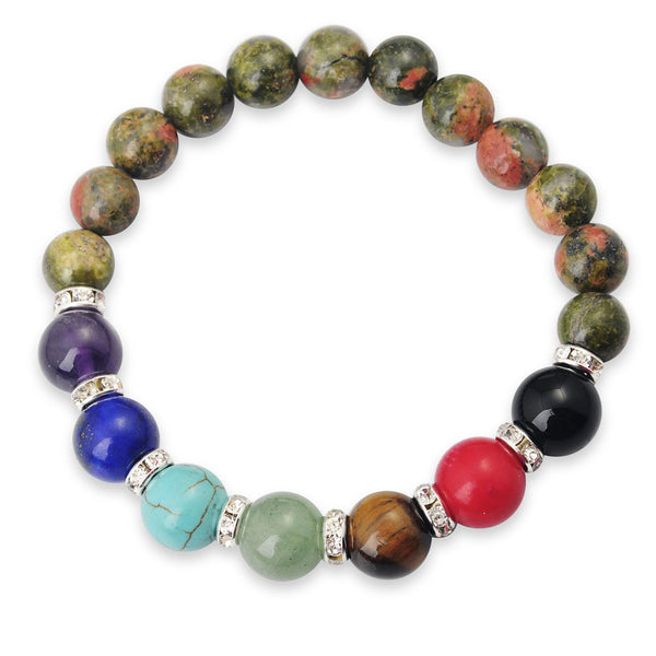 Gemstone Chakra Bracelets - Shevoila Jewelry & Clothing - 10