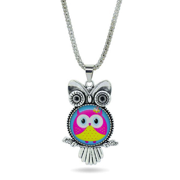 Owl Necklace Pendant - Shevoila Jewelry & Clothing - 4