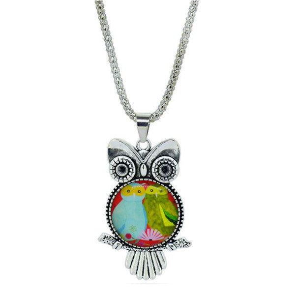Owl Necklace Pendant - Shevoila Jewelry & Clothing - 3
