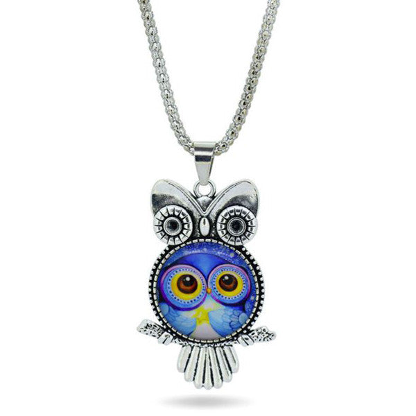Owl Necklace Pendant - Shevoila Jewelry & Clothing - 1