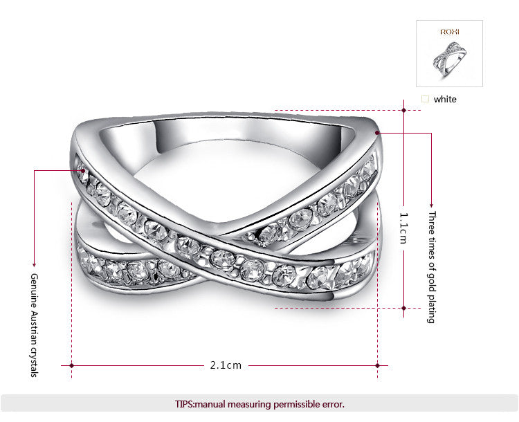 Gold/Platinum & Diamond Ring - Shevoila Jewelry & Clothing - 3
