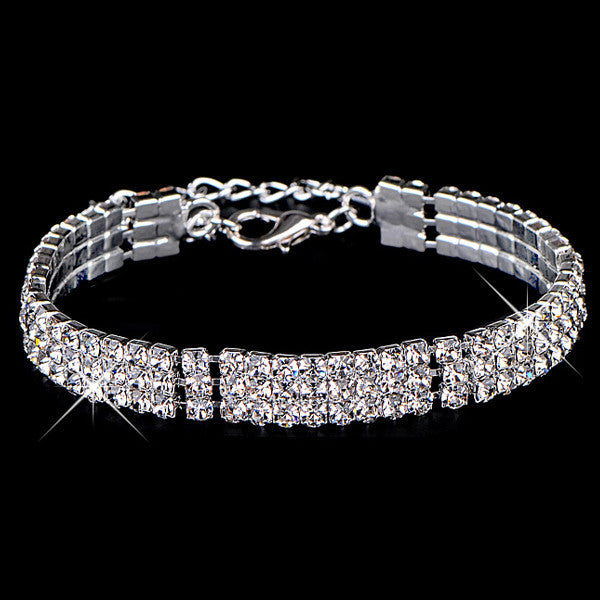 Gold Diamond Bracelet - Shevoila Jewelry & Clothing - 2