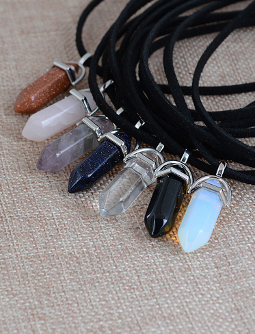 Double Layer Opal Choker Necklace