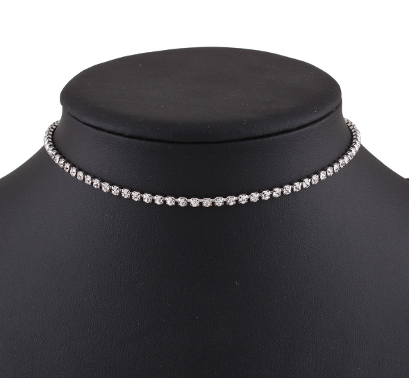 Luxury Crystal Choker Necklace