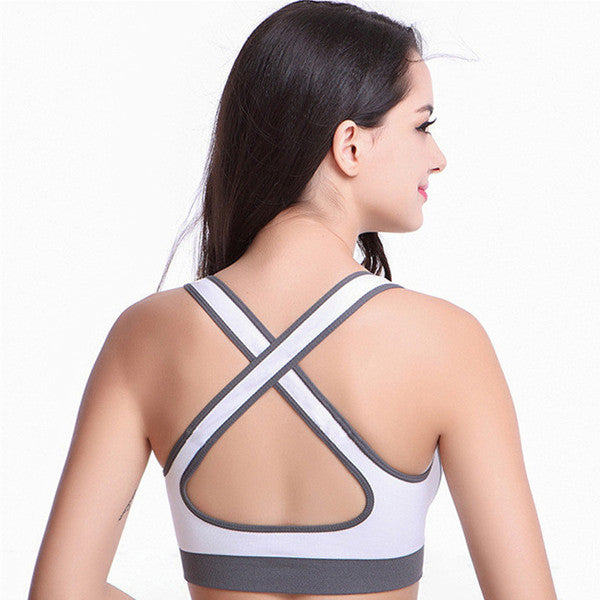 Top Athletic Fitness Sports Bra