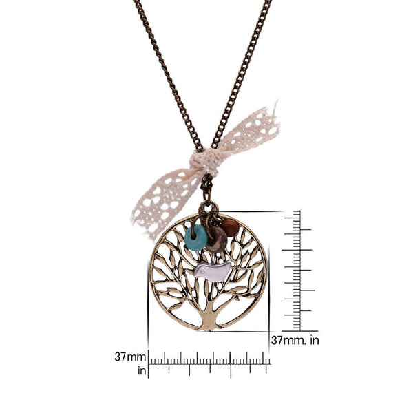 Vintage Life Tree Necklace - Shevoila Jewelry & Clothing - 2
